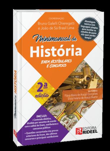 Minimanual de História - Enem, vestibulares e concursos - 2ª edição