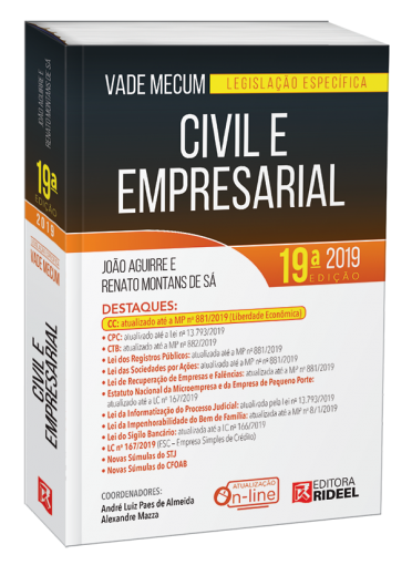 Vade Mecum Civil e Empresarial - Legislação Específica 19ª edição