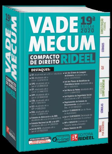 Vade Mecum Compacto de Direito Rideel - 2020