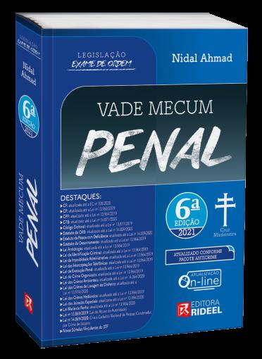 Vade Mecum Penal - Legislação Exame de Ordem 6ª edição