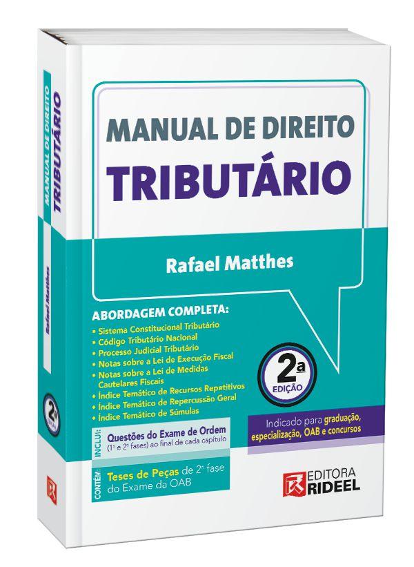 Imagem - Manual de Direito Tributário - 2ª edição  - 9788533957077