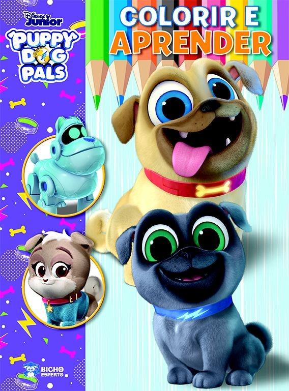 Imagem - Colorir e Aprender Disney - Bingo e Rolly cód: 9788533955790