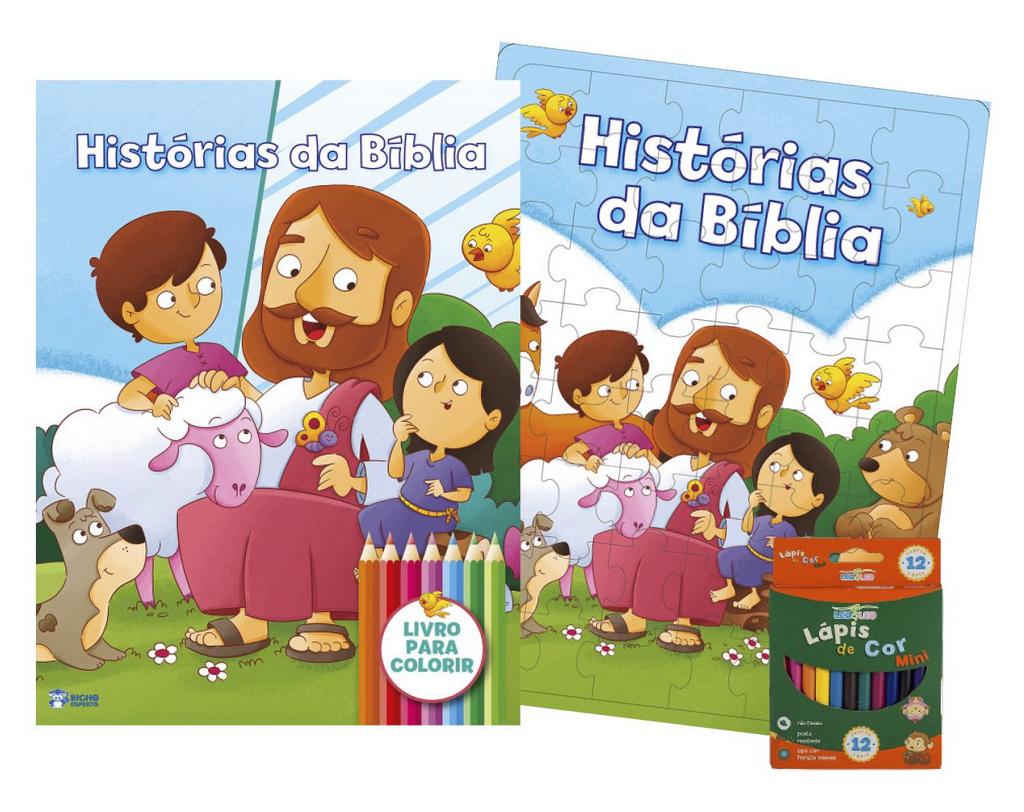 Imagem - Kit Diversão - Histórias da Bíblia - 9788533957428