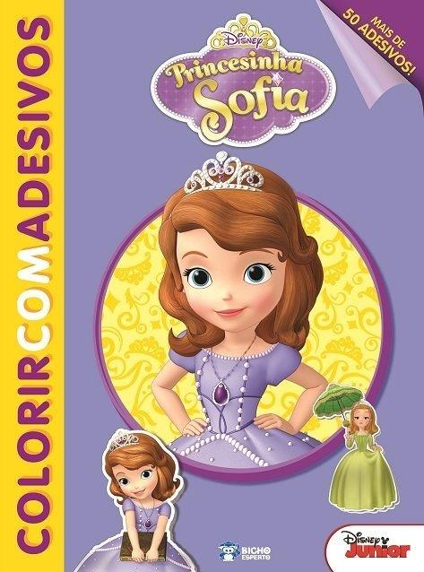 Imagem - Colorir com Adesivos Disney - Princesinha Sofia - 9788533939240