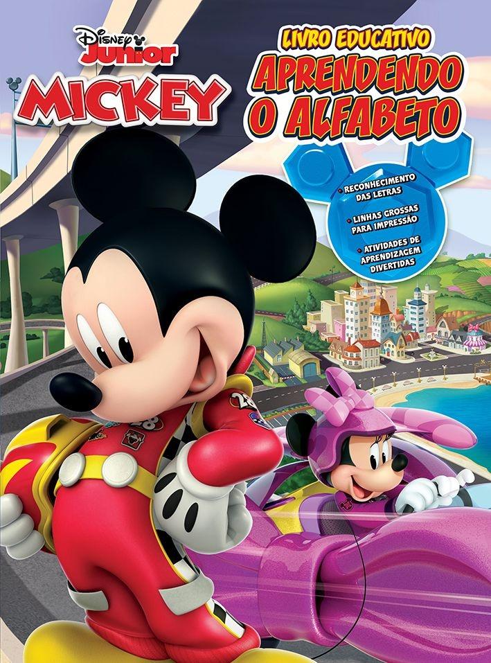 Imagem - Atividades Educativas Disney - Aprendendo o Alfabeto  cód: 9788533953291