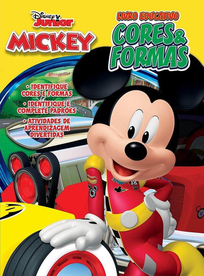 Imagem - Atividades Educativas Disney - Cores e Formas cód: 9788533953307
