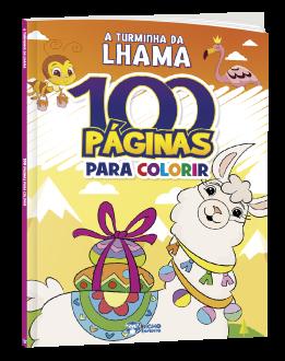 Imagem - 100 páginas para Colorir - A Turminha da Lhama cód: 9786557380529