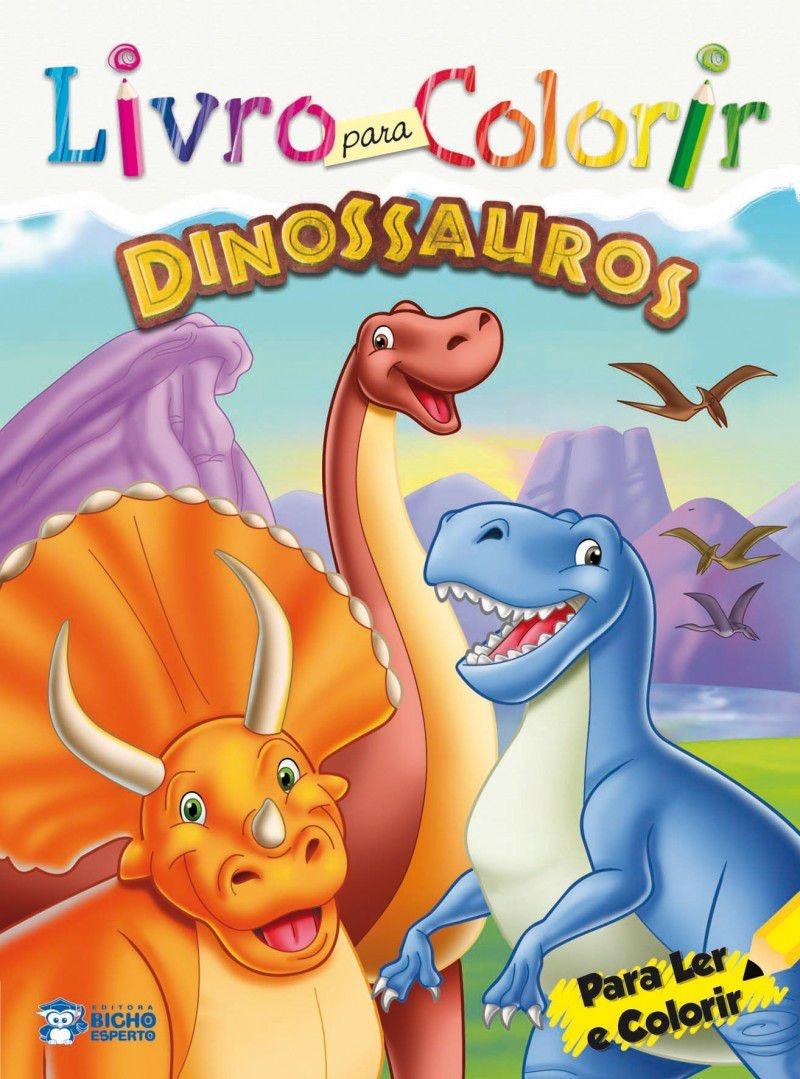 Imagem - Livro para Colorir: Dinossauros cód: 9788533928022