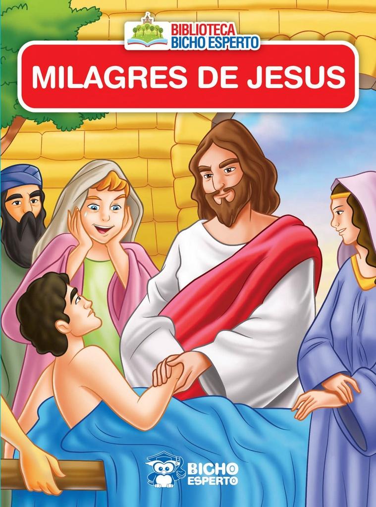 Imagem - Mini Livro da Bíblia - Os Milagres de Jesus - 9788533943216