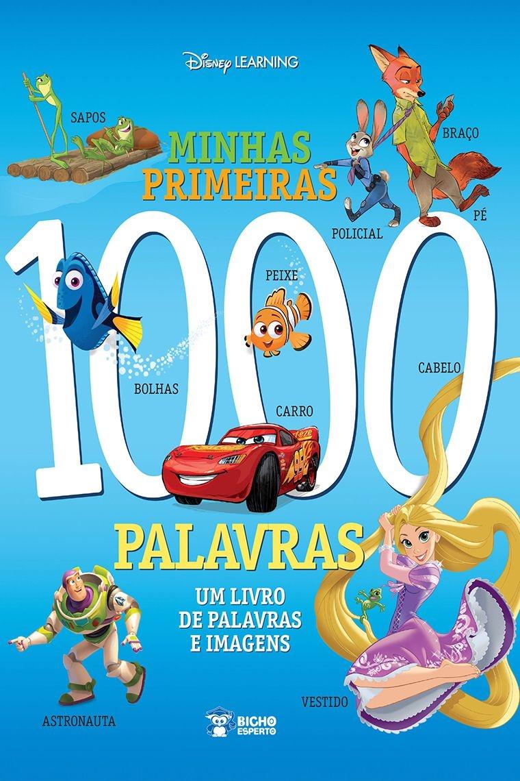 Imagem - Minhas Primeiras 1.000 Palavras - Disney cód: 9788533953246