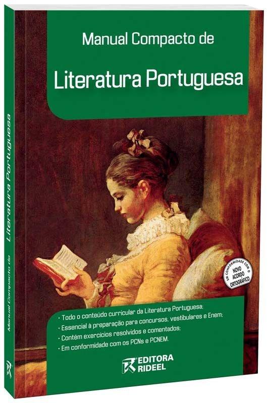 Imagem - Manual Compacto de Literatura Portuguesa - Ensino Médio cód: 9788533916128