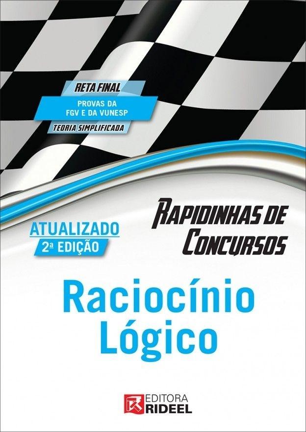 Imagem - Rapidinhas de Concursos - Raciocínio Lógico  - 9788533937437