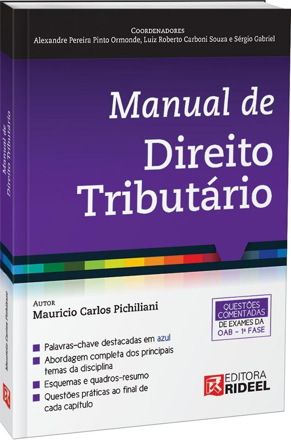 Imagem - Manual de Direito Tributario 1ED. - 9788533950764