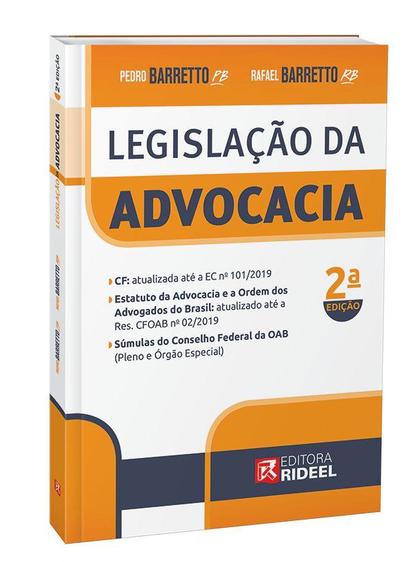 Imagem - Legislação da Advocacia - 2ª edição  cód: 9788533957114
