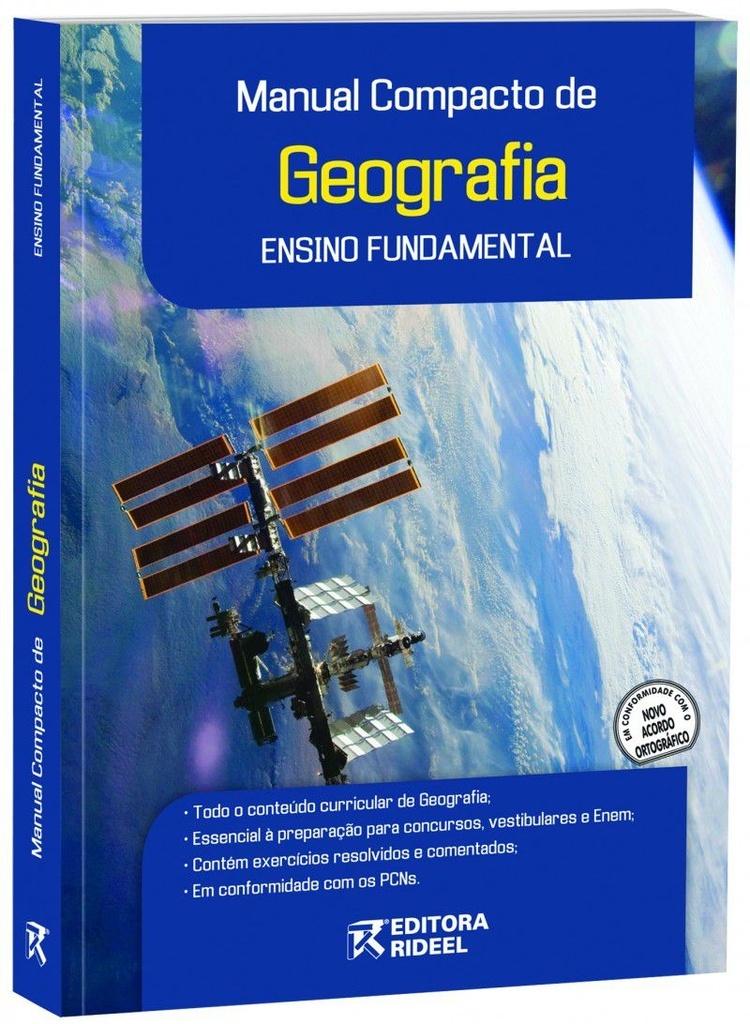Imagem - Manual Compacto de Geografia - Ensino Fundamental - 9788533916289