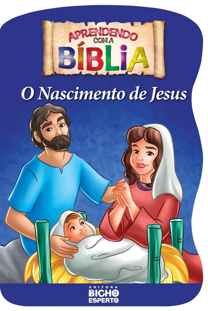 Imagem - Aprendendo com a Bíblia - O Nascimento de Jesus cód: 9788533922211
