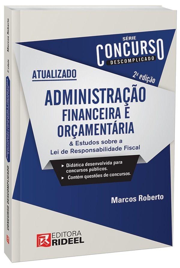 Imagem - Concurso Descomplicado - Administração Financeira e Orçamentária cód: 9788533935754