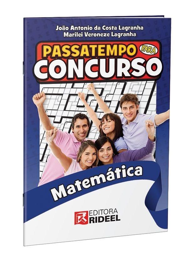 Imagem - Passatempo para Concurso - Matematica - 1ª ediçao cód: 9788533941021