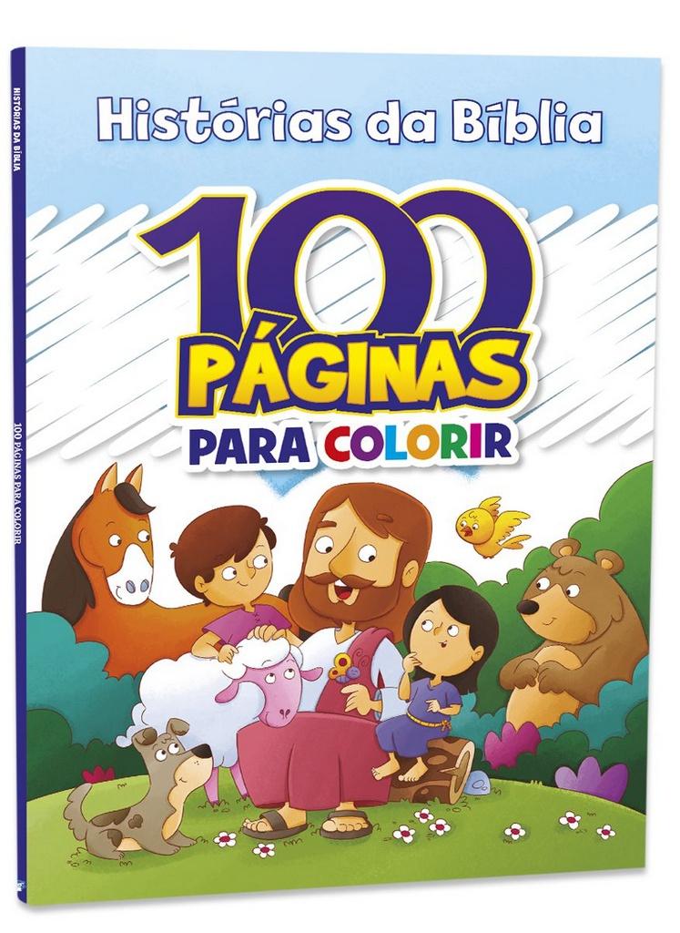 Imagem - 100 Páginas para Colorir - Histórias da Bíblia cód: 9788533955844