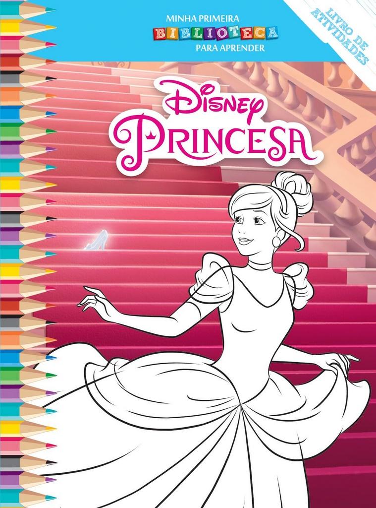 Imagem - Biblioteca Colorir Disney - Cinderela cód: 9788533945425
