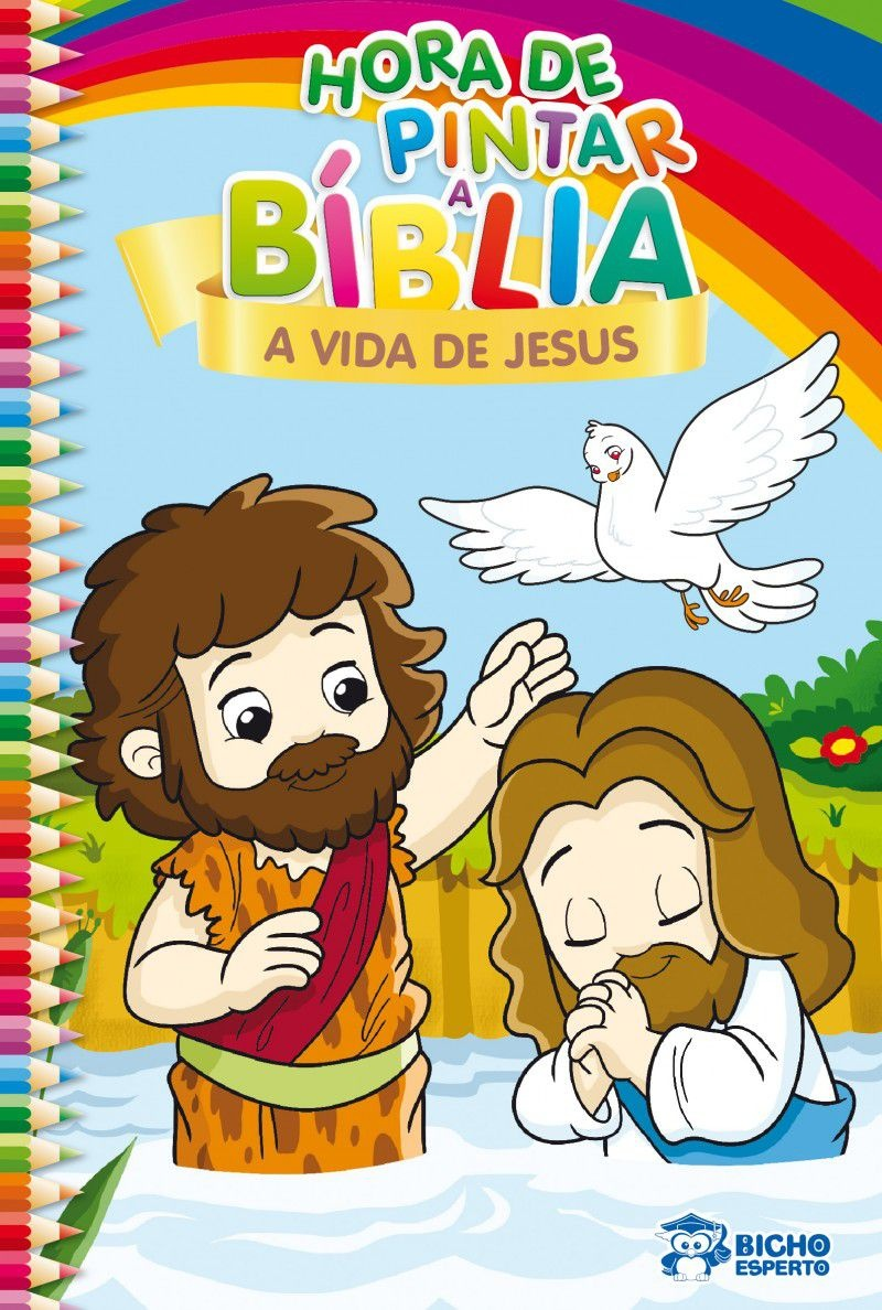 Imagem - Hora de Pintar Bíblia - A Vida de Jesus - 9788533937345