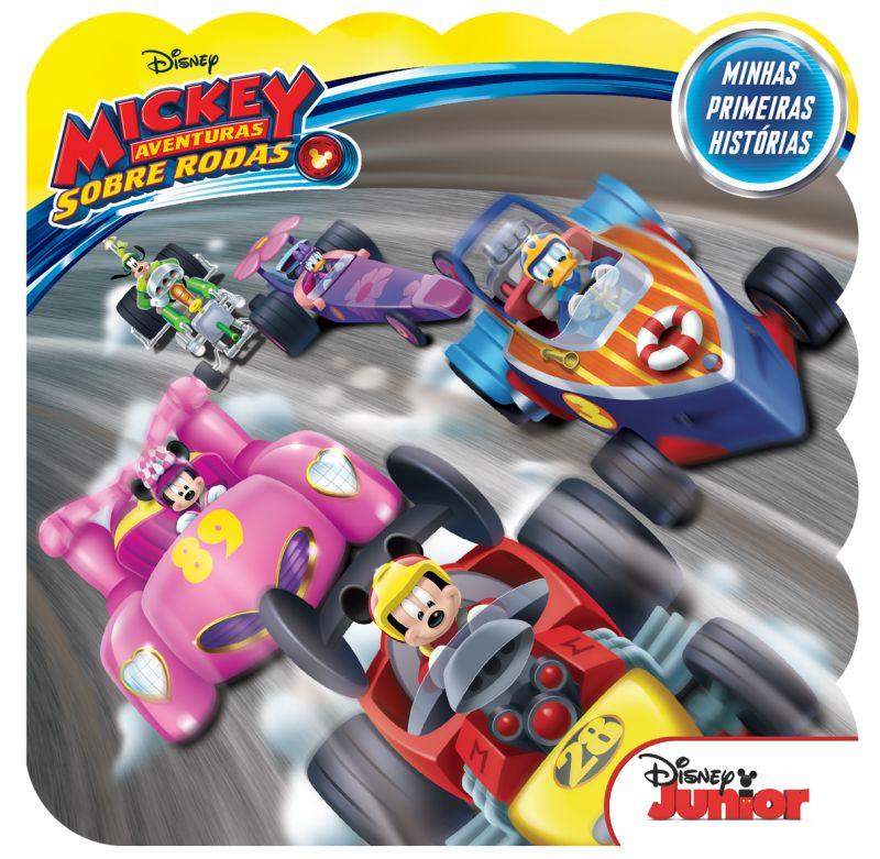 Imagem - Minhas Primeiras Histórias Disney - Mickey Aventuras Sobre Rodas  - 9788533952461