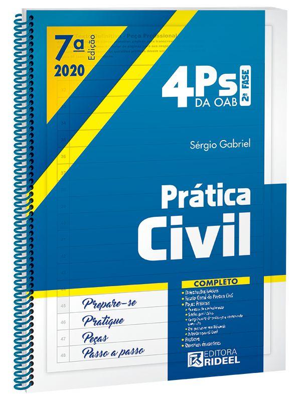 Imagem - 4Ps da OAB - Prática Civil - 7ª edição cód: 9788533958890