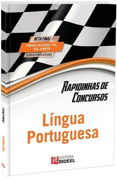 Imagem - Rapidinhas de Concursos - Língua Portuguesa  cód: 9788533925670