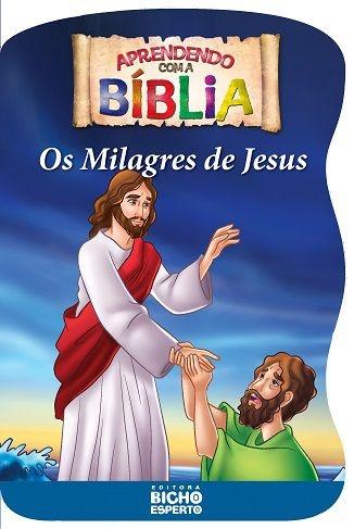 Imagem - Aprendendo com a Bíblia - Os Milagres de Jesus - 9788533922228