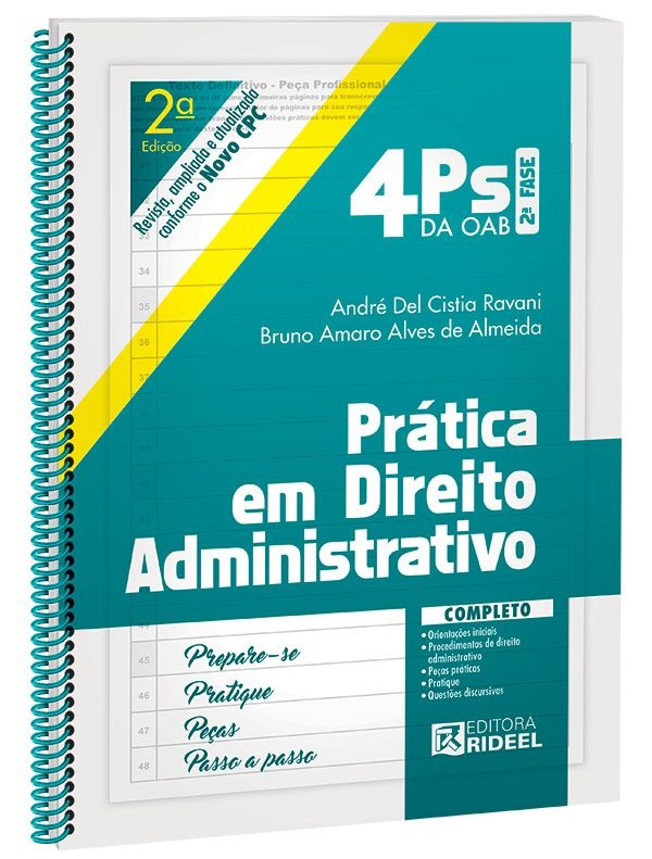 Imagem - 4Ps da OAB - Prática em Direito Administrativo  cód: 9788533942509