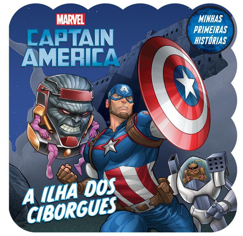Imagem - Minhas Primeiras Histórias Marvel - Capitão América  - 9788533952522