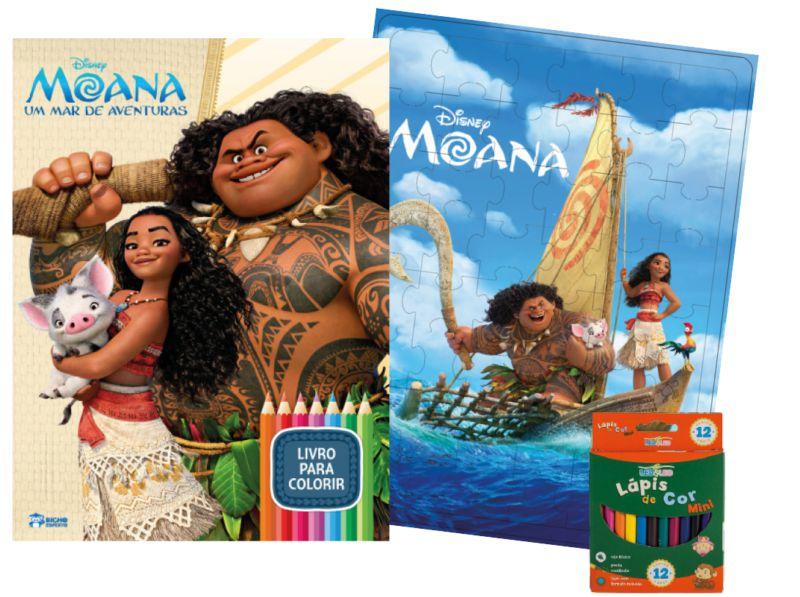 Imagem - Kit Diversão Disney - Moana cód: 9788533951730