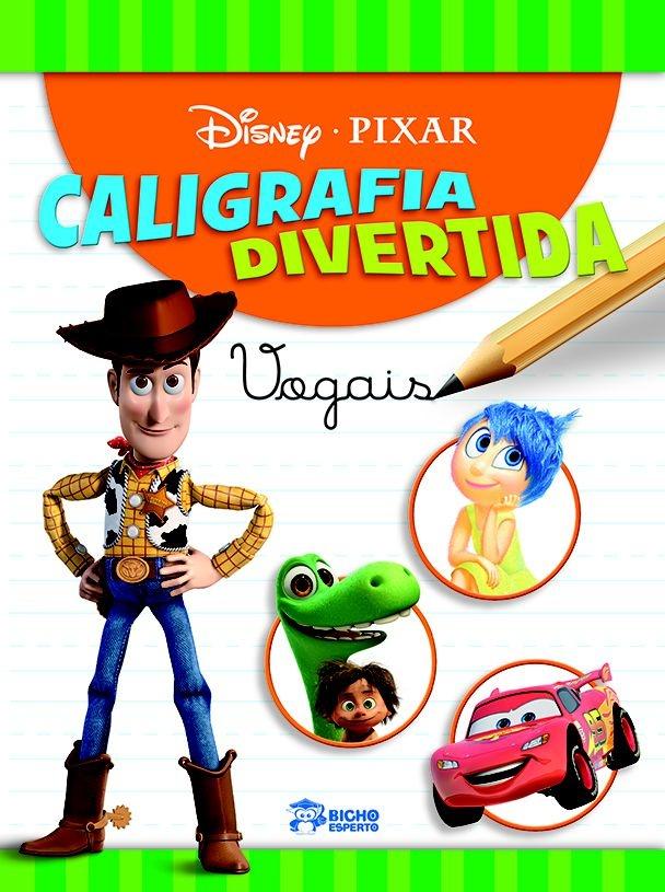 Imagem - Caligrafia Divertida Disney - Vogais  cód: 9788533939134