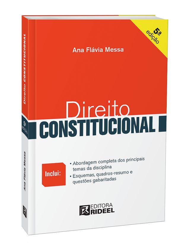 Imagem - Direito Rideel - Direito Constitucional 5ED. cód: 9788533951570