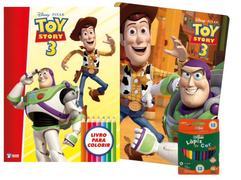 Imagem - Kit Diversão Disney - Toy Story 3 cód: 9788533939059