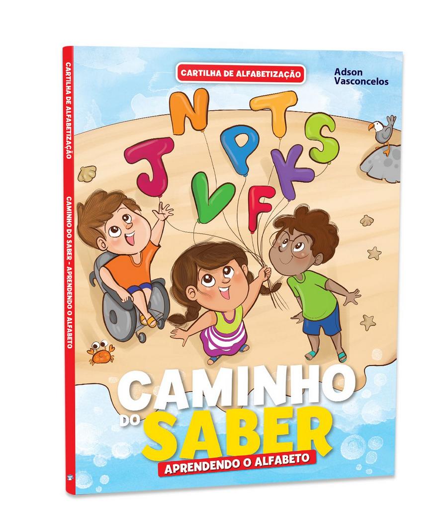 Imagem - Cartilha de Alfabetização Caminho do Saber - Aprendendo o Alfabeto - 9788533955950