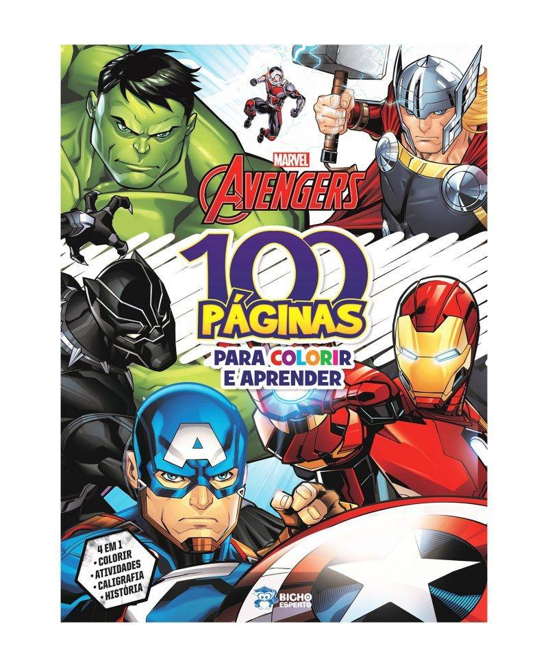 Imagem - 100 Páginas para Colorir Marvel - Vingadores - 9788533951181