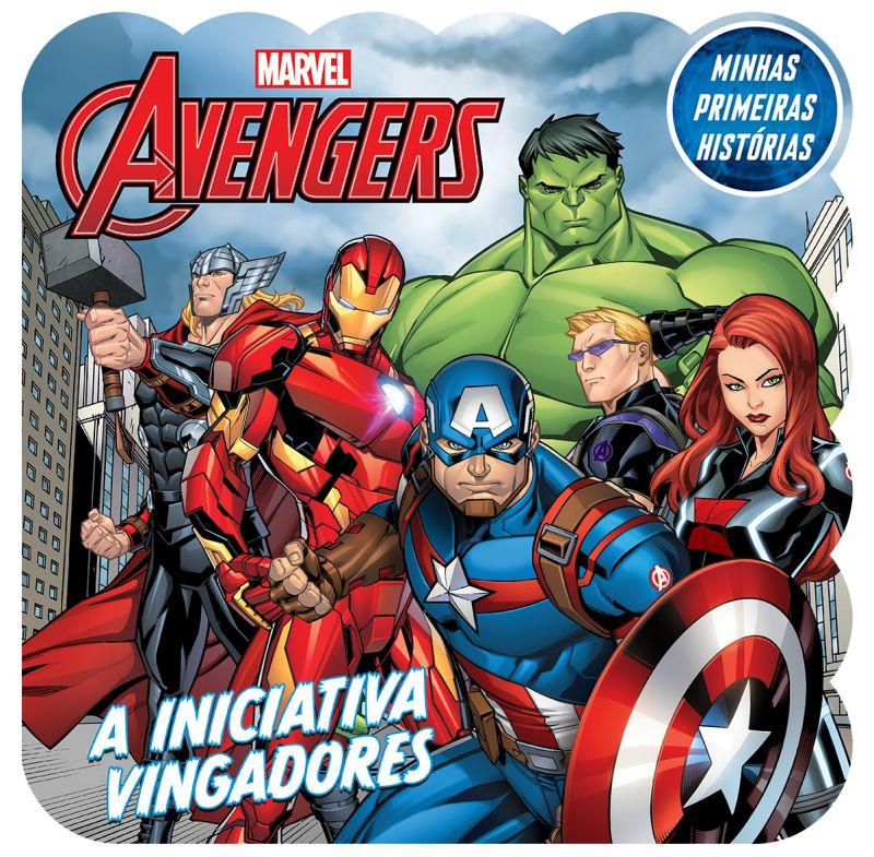 Imagem - Minhas Primeiras Histórias Marvel - Vingadores Trabalho em Equipe  - 9788533952515