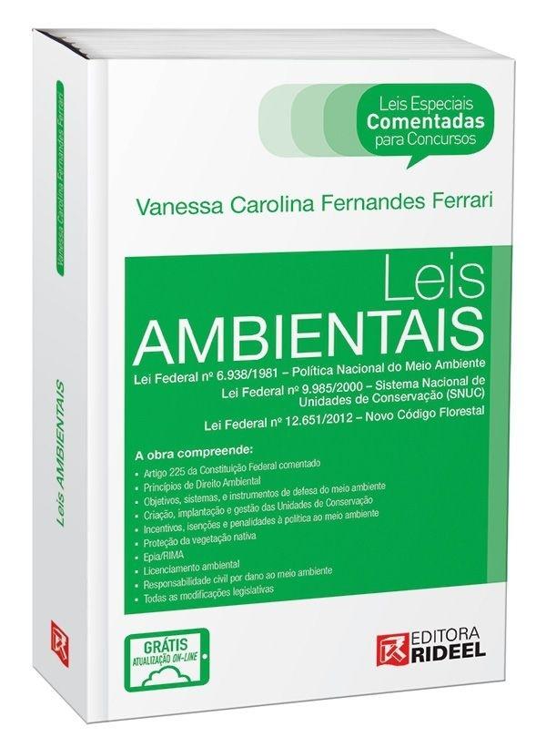 Imagem - Leis Especiais Comentadas - Leis Ambientais - 1ª edição cód: 9788533938007