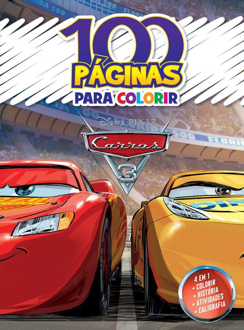 Imagem - 100 Páginas para Colorir Disney - Carros 3 cód: 9788533945524