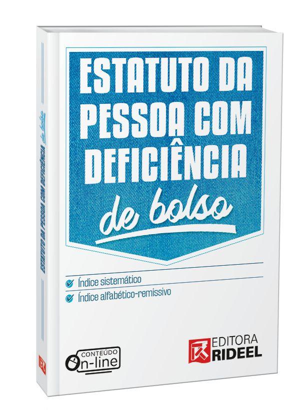 Imagem - Estatuto da Pessoa com Deficiência de Bolso  - 9788533956223