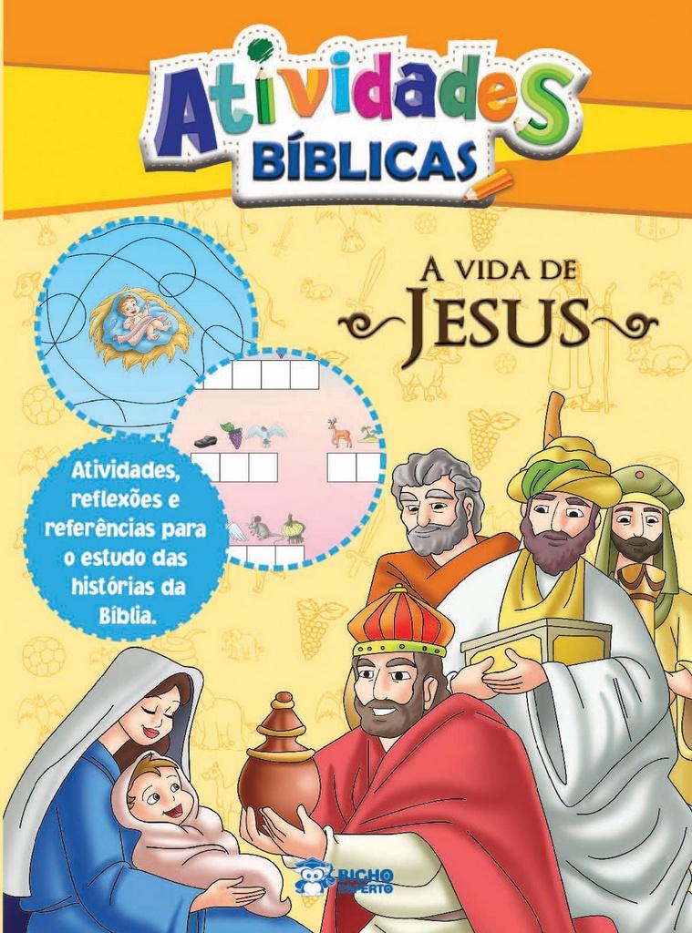 Imagem - Atividades Bíblicas - A Vida de Jesus - 9788533928688
