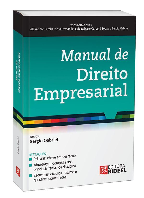 Imagem - Manual de Direito Empresarial 1ED. cód: 9788533952690