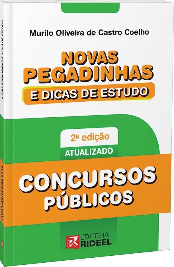Imagem - Novas Pegadinhas e Dicas de Estudo - Concurso Público  - 9788533935716