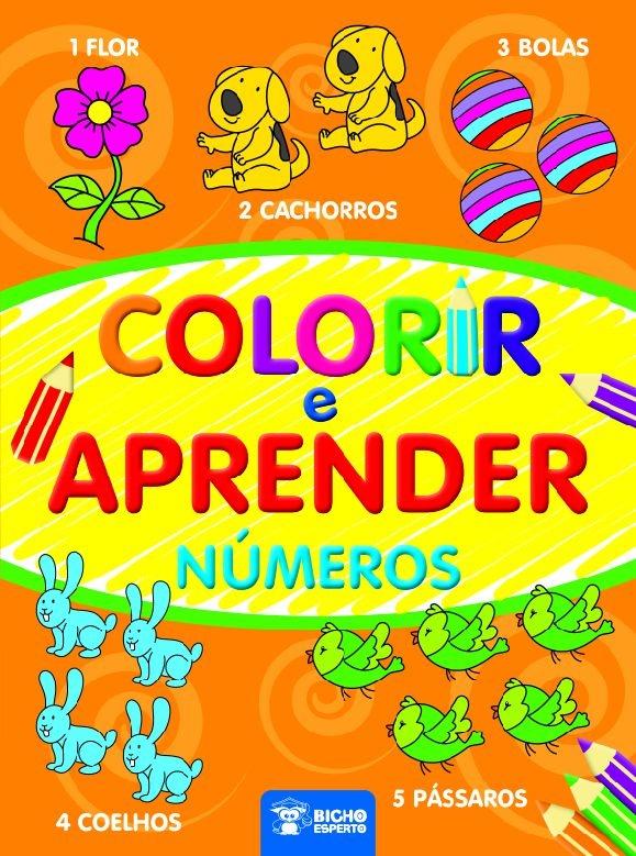 Imagem - Colorir e Aprender - Números cód: 9788533932135