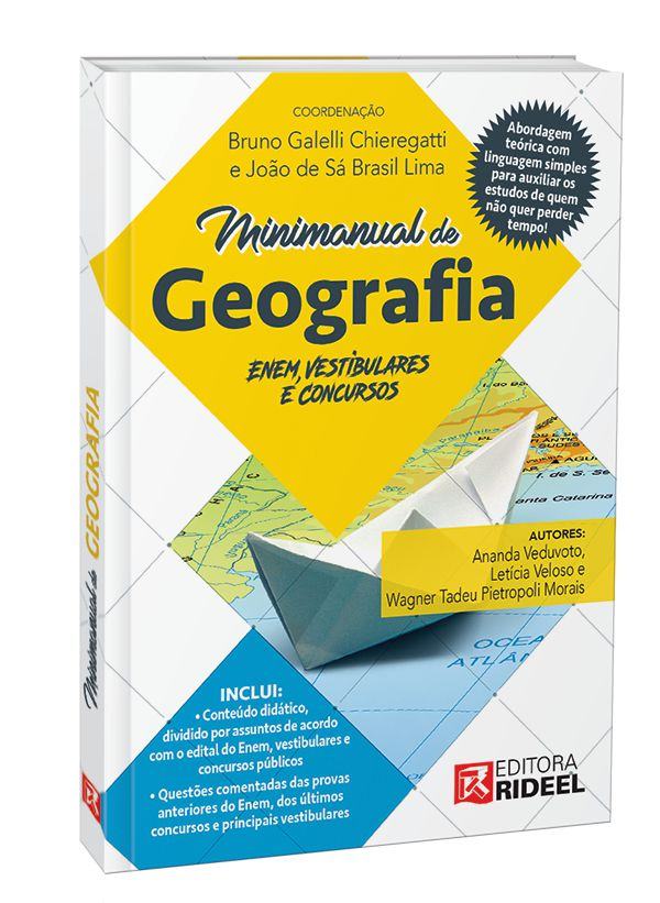 Imagem - Minimanual de Geografia - Enem, vestibulares e concursos - 1ª edição cód: 9788533952959