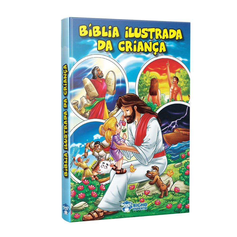 Imagem - Bíblia Ilustrada da Criança  cód: 9788533928541