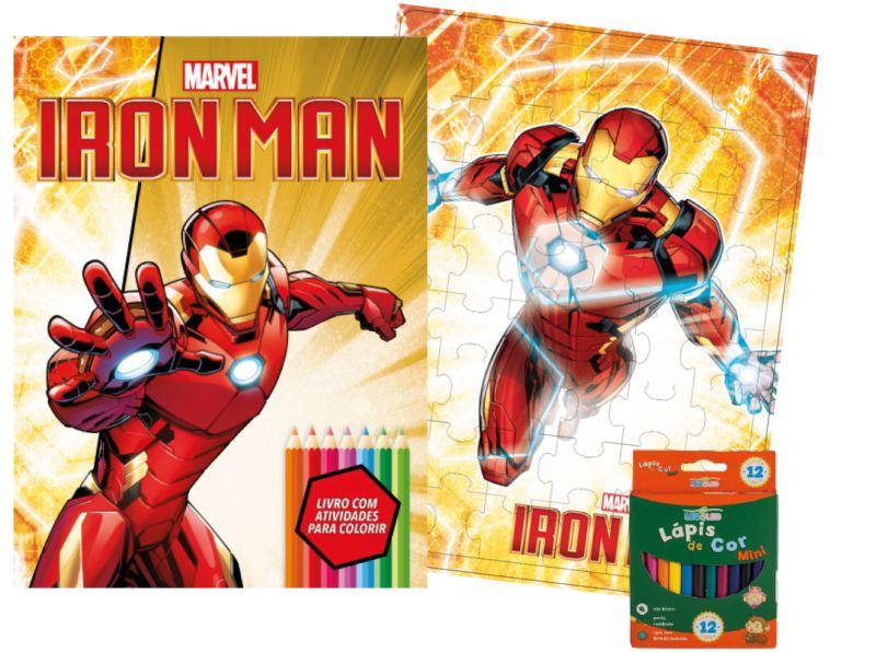 Imagem - Kit Diversão Marvel - Homem de Ferro - 9788533951761