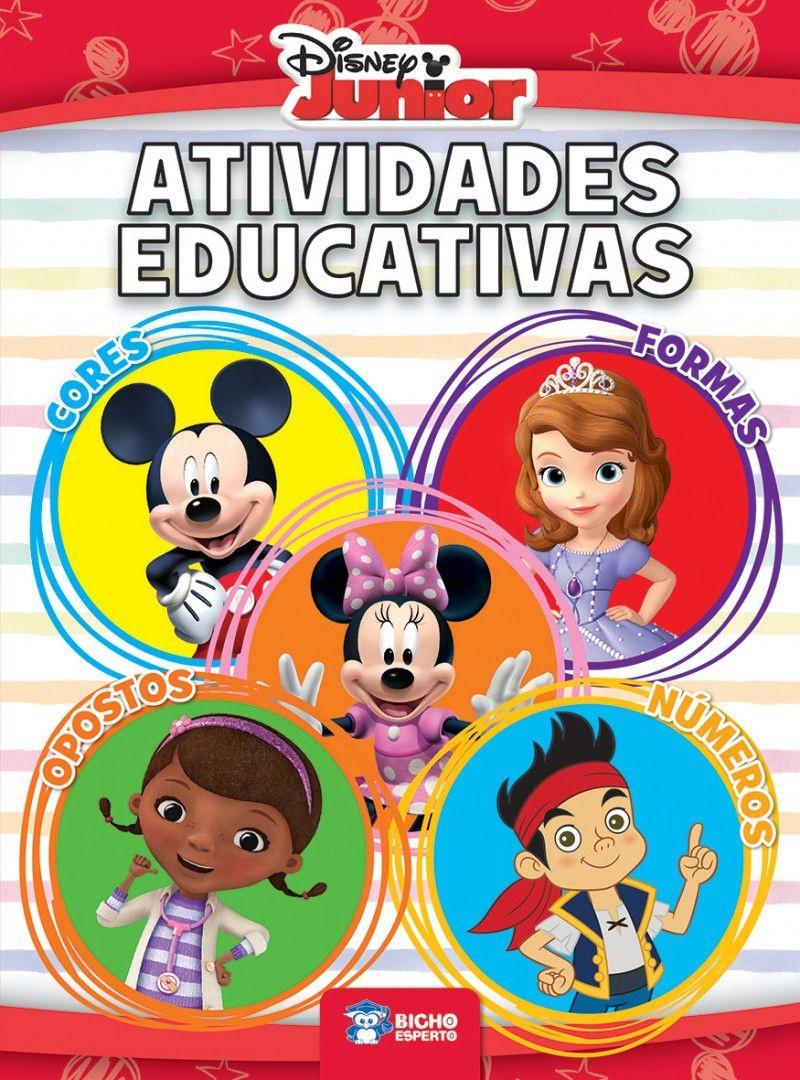 Imagem - Atividades Educativas - Disney Junior  cód: 9788533935990