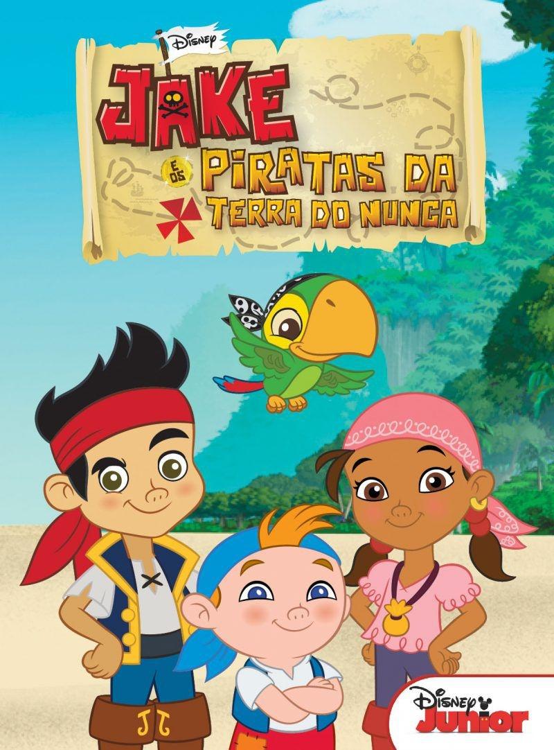 Imagem - Biblioteca Disney - Jake e os Piratas cód: 9788533939592